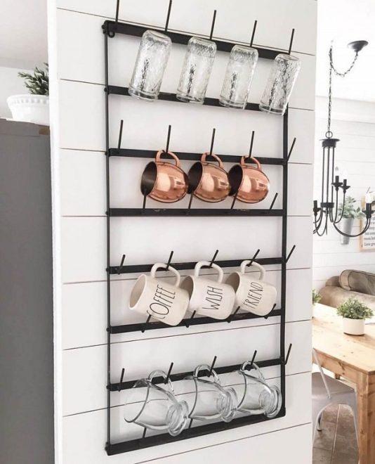 Как хранить кружки на кухне