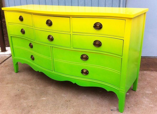 как покрасить мебель чтобы не было разводов