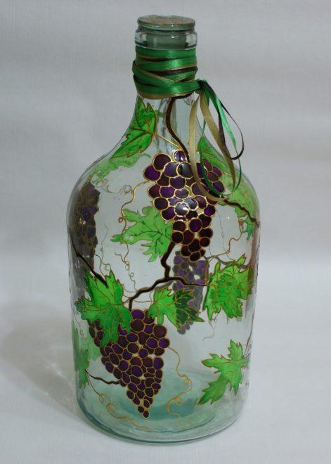графин из бутылки