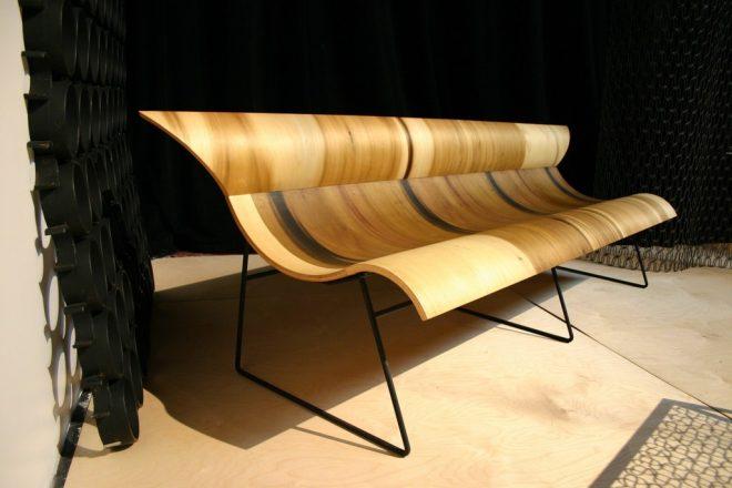 Фанерная скамья