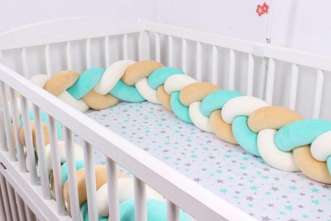 Бортики кроватки