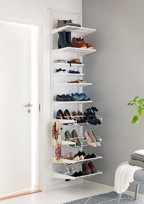 Обувница с полочками