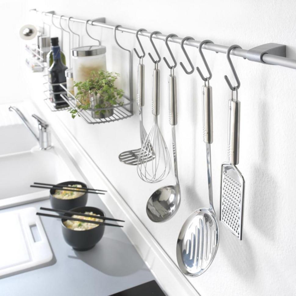 кухонные аксессуары для рейлингов фото превосходные