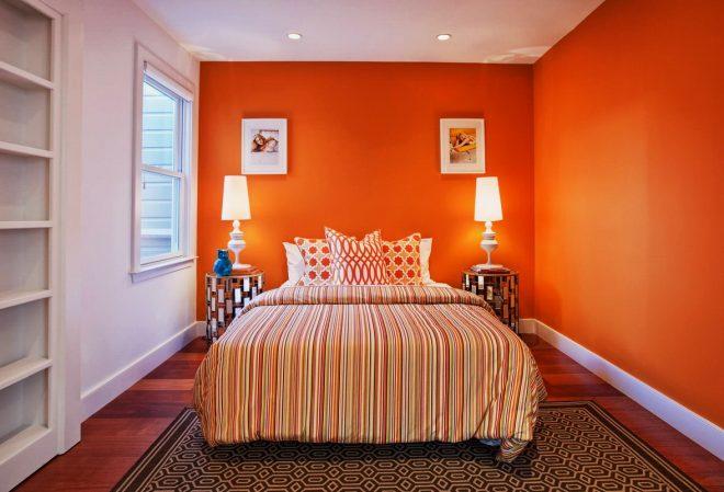 Насыщенный оранжевый для неординарных, творческих и смелых натур