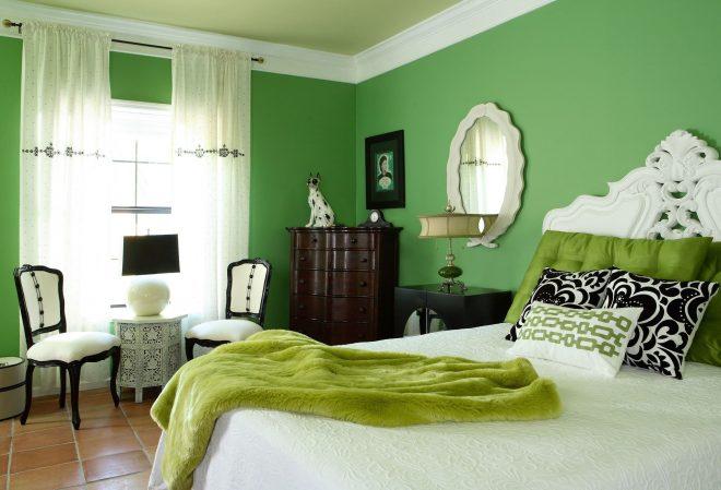 Зелёный в классическом стиле