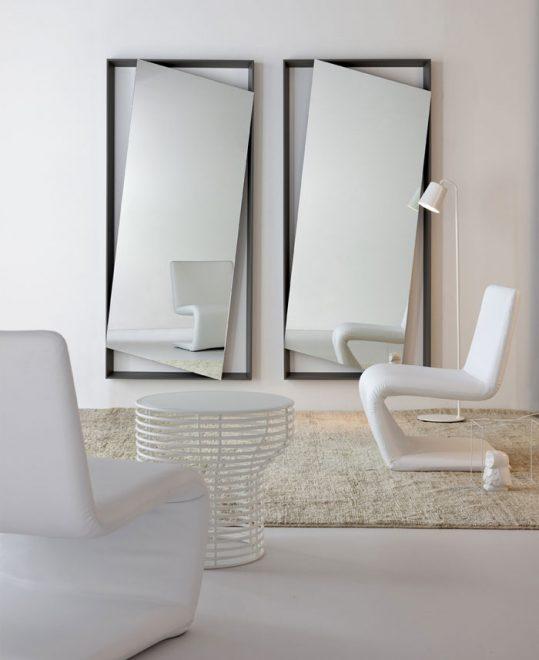 Необычные минималистичные зеркала