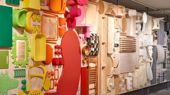 Цветной коридор музея