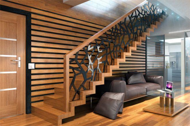 Современные лестницы в интерьере