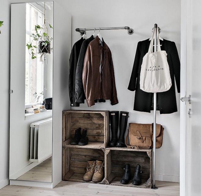 Хранение верхней одежды в прихожей