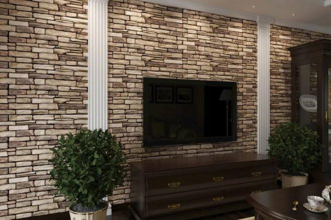 Стеновые панели с имитацией кирпича