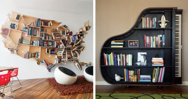 Компактная домашняя библиотека