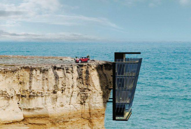 Дом над морем