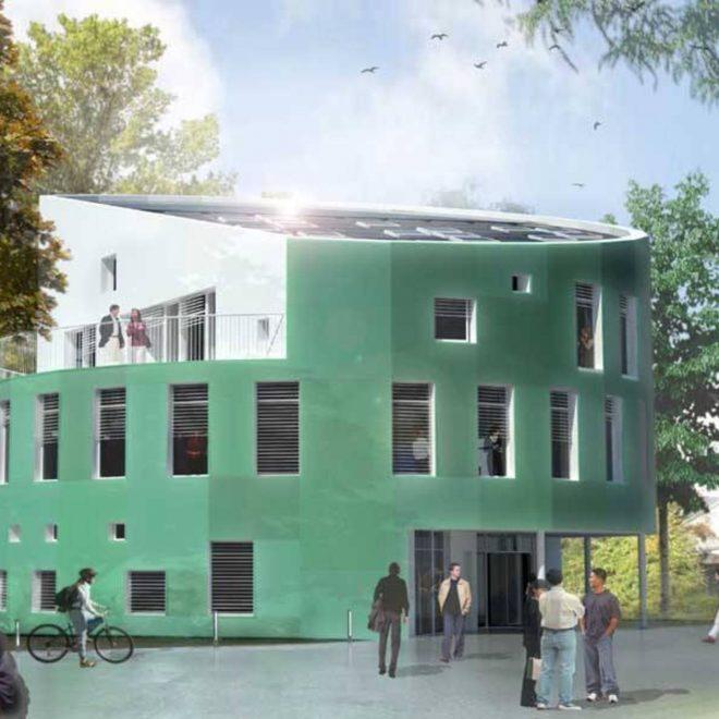 Фасад самого умного дома в мире