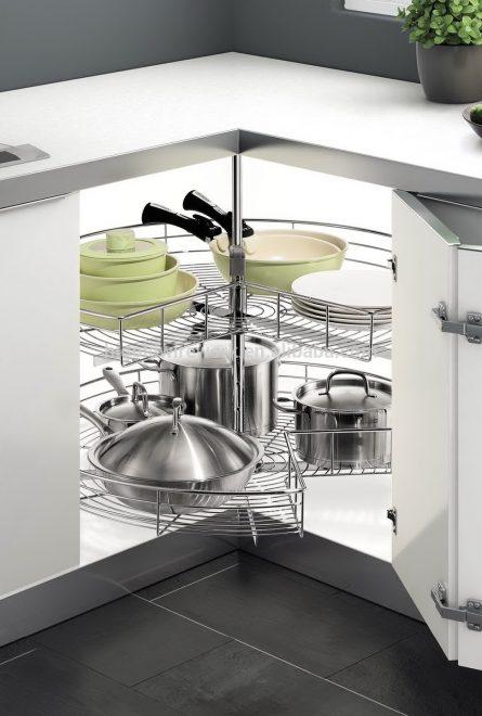 скрытое хранение на кухне