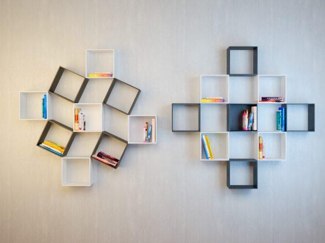 квадратные полки на стену