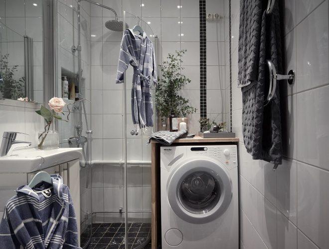 планировка маленькой ванной со стиральной машиной