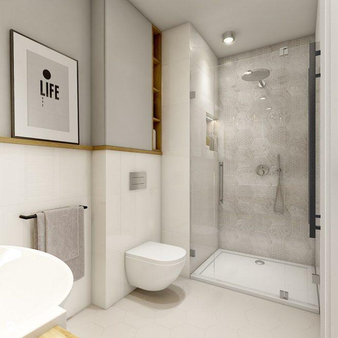 душевая совмещенная с туалетом 3 кв м