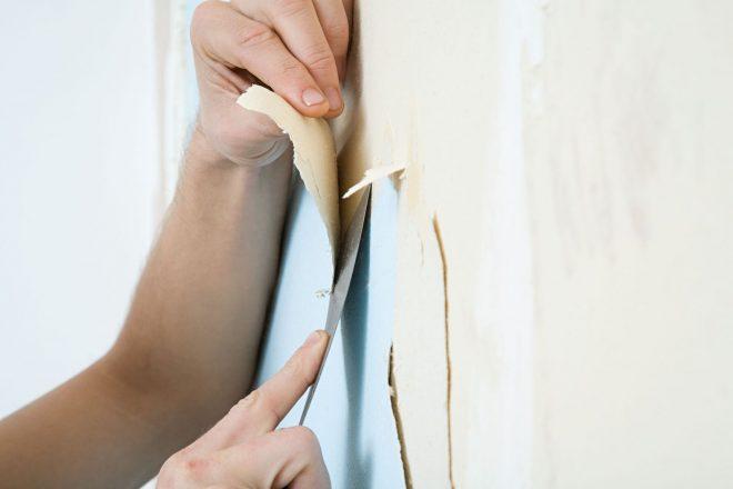 удаления старых обоев со стен своими руками