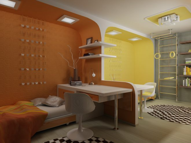 идеи комнаты для двух девочек подростков