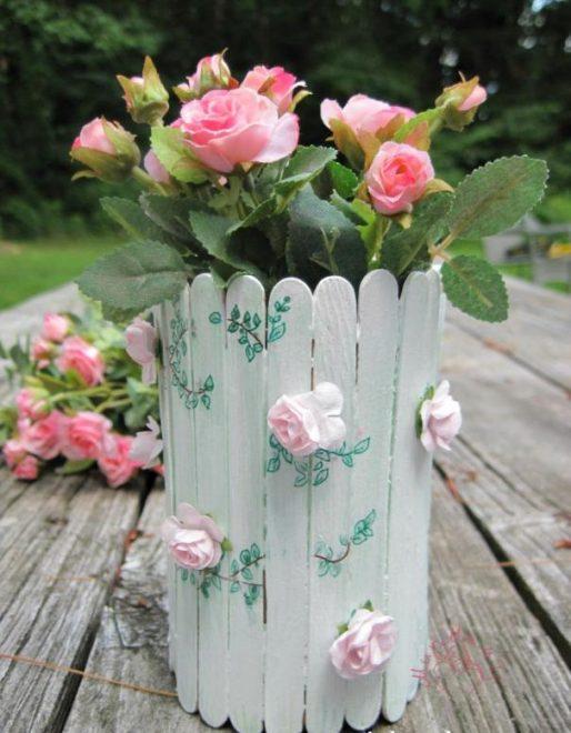 вазы своими руками из подручных материалов