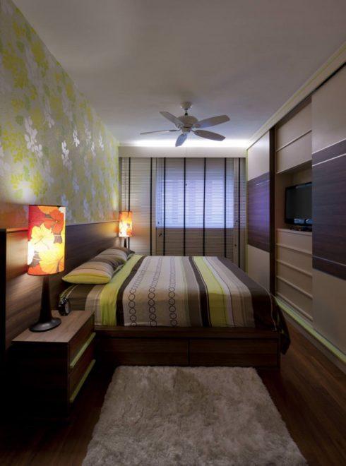 Спальня в хрущёвке