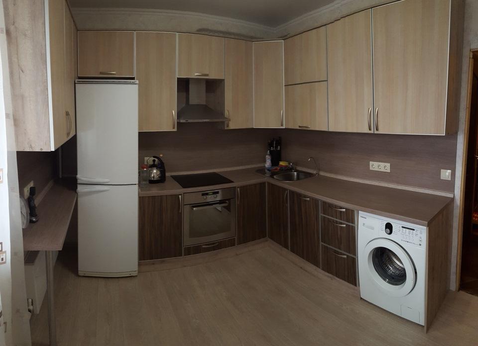 фигура кухня со встроенной стиральной машиной фото них плотно прилегает