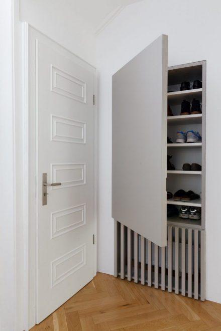 Шкаф для батареи и обуви