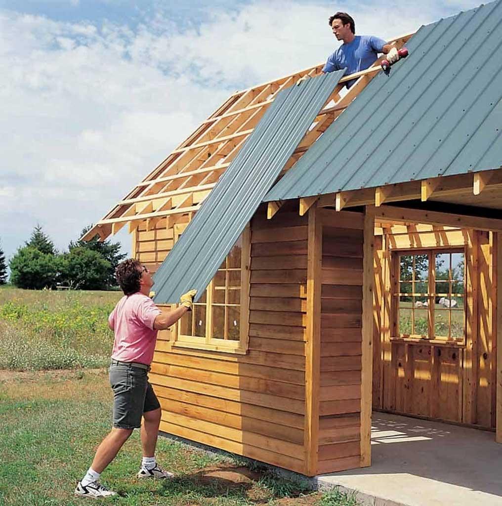 Как самому сделать бюджетный домик