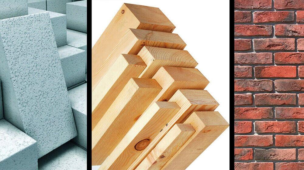 Выбор материала для строительства домика