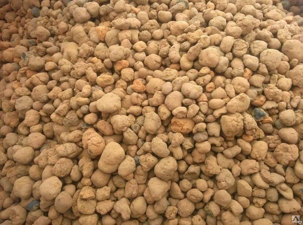 Песок, гравий или клинкер