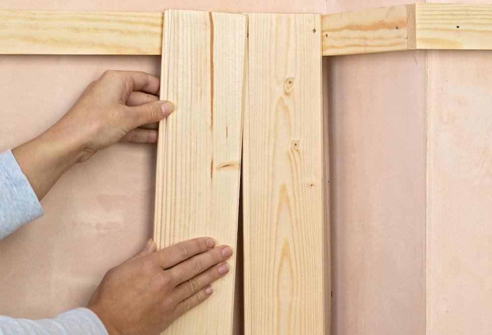 Как обшить вагонкой стены своими руками