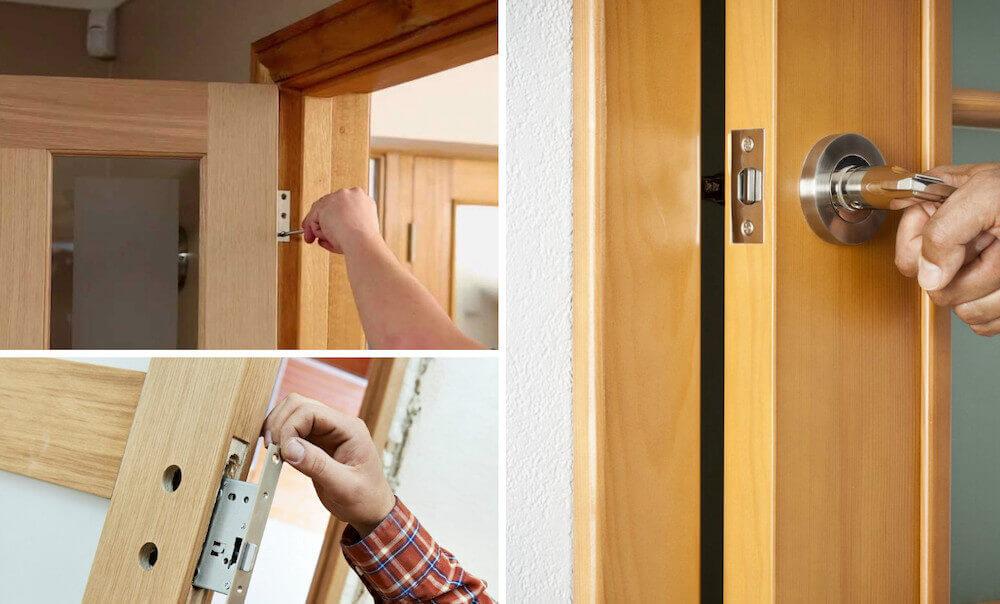 ошибки при установке дверей