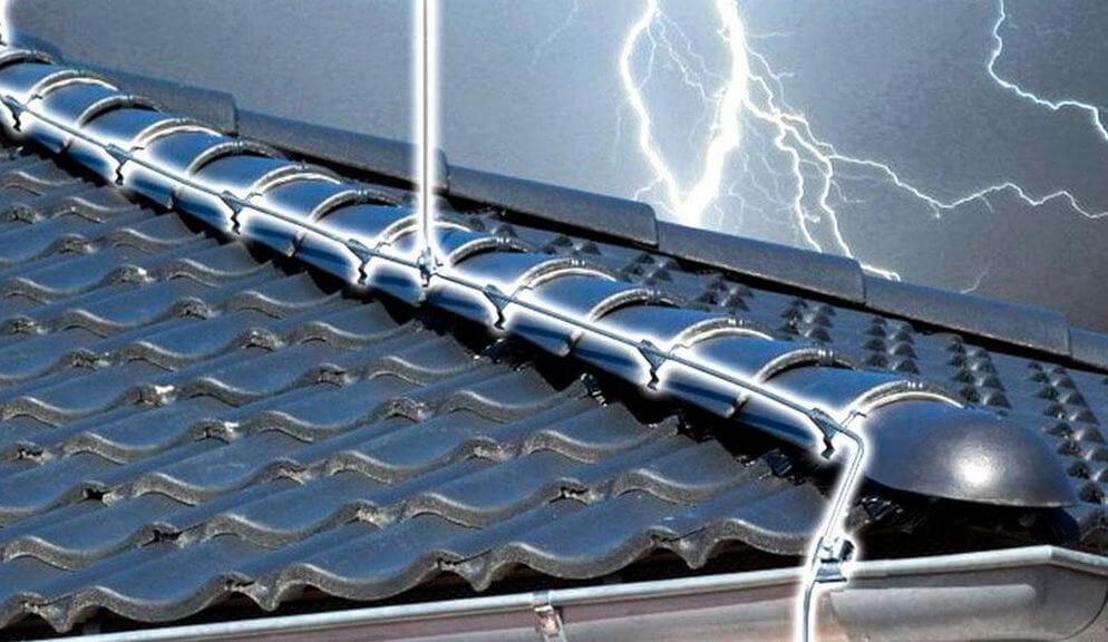 Подбор элементов необходимой толщины для защиты от молнии